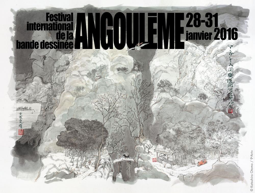 Festival Bande dessinée angoulême AfficheOtomo