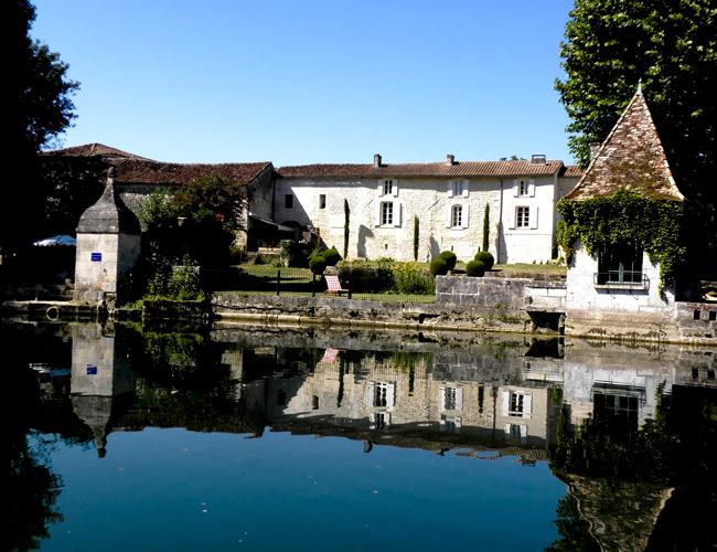 Vue depuis la Charente