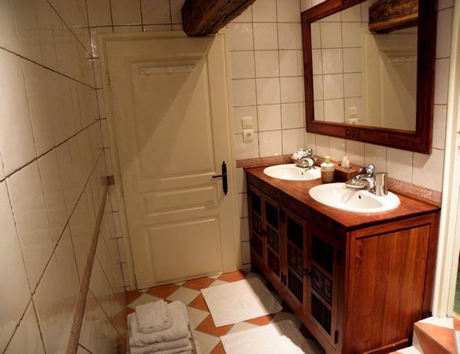 Salle de bain de la Part des Anges